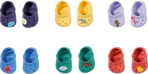 ZAPF 828311 BABY born® Holiday Schuhe mit Pins 43 cm - sortiert