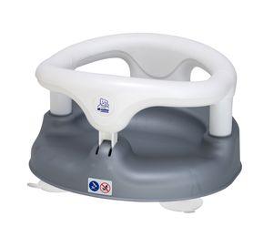 Rotho Babydesign Baby Badesitz 20429-0240-01, grau/weiß
