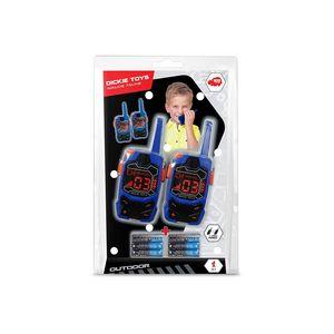 Dickie Toys Walkie Talkie Outdoor, Funkgerät, Sprechgerät, Kinder, Spielzeug, 2 Stück, 201118192