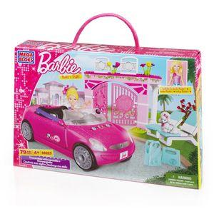 Mega Bloks Barbie Carport mit Cabrio und Convertible
