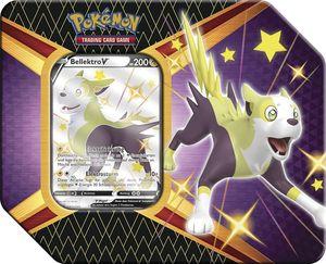 Pokemon Sammelkarten SWSH 4.5 Tin Box 'Glänzendes Schicksal', Charakter:Bellektro-V