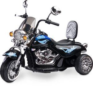 Caretero Toyz Rebel Elektro Motorrad Kindermotorrad Kinderfahrzeug Schwarz