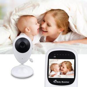 Wireless Video Farbe Baby Monitor mit 2,4 Zoll LCD 2 Weg Audio Sprechen Nachtsicht Überwachung Sicherheit Kamera Babysitter