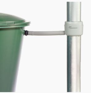 Füllautomat GARANTIA Fallrohrfilter DN 70-100 Regendieb Regenwasser Regentonne braun
