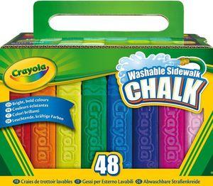 Crayola eckige Straßenkreide, 48 Stück