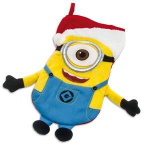 Minions Weihnachtsstrumpf Plüsch