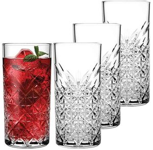 Pasabahce Longdrinkglas 295 ml 4 Stk. mit Kristall Look