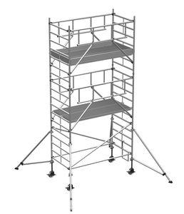 ZARGES Multitower S-PLUS 2T - Fahrgerüst Ausleger Arbeitshöhe 6,45 m