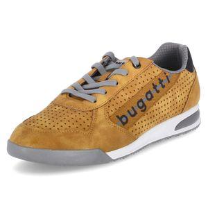 bugatti Herren Sneaker Sneaker Low Synthetik gelb 41