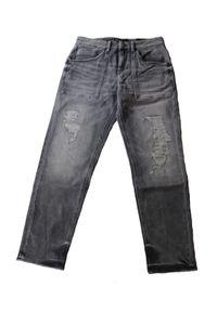 Drykorn Damen Jeans W25 L32 Mid Rise Cropped Grau #CC61