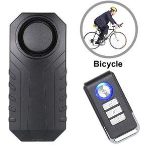 Fahrrad Alarmschloss Wireless Anti-Diebstahl Fernbedienung Alarmanlage Alarm, Fahrrad Alarm Sicherheitsschloss, Motorrad Fahrzeug Alarmanlage Sirene
