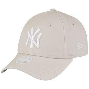 New Era 9Forty Damen Cap - New York Yankees stone beige
