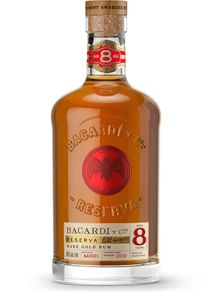 Bacardi Reserva Ocho 8 Jahre Rare Gold Rum Puerto Rico   40 % vol   0,7 l