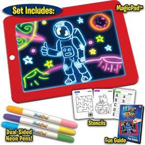 Melario 2020 Heiß Malen Lernspielzeug Malen LED Pad für Kinder Weihnachtsgeschenk