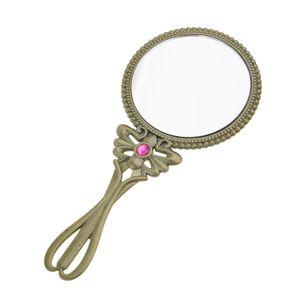 Handspiegel Retro Kosmetik-Spiegel mit Klappbar Griff, Perfektes Geschenk für Damen und Frauen