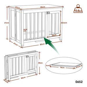 Lovupet tragbare faltbare Hundehütte Isoliert Hundehaus Hundbox 0652CR