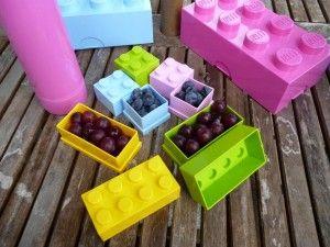 LEGO mini-Speicherstein 8 Noppen 4,6 x 9,2 cm Polypropylen gelb