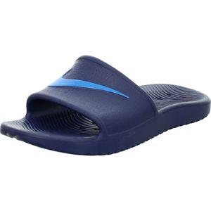 Nike NIKE KAWA SHOWER LITTLE/BIG KI MIDNIGHT NAVY/LASER BLUE MIDNIGHT NAVY/LASER BLUE 32