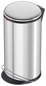 Tret-Abfallsammler, Hailo Harmony L, Edelstahl, 20 Liter, Inneneimer: Kunststoff, schwarz