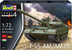 Revell Modellbausatz Panzer T-55 AM/AM2B 1:72