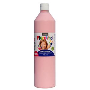 Piccolino Fingerfarbe Rosa, 750 ml Flasche