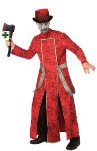 Teufelskostüm Karneval Halloween mit Axt Größe: Einheitsgröße