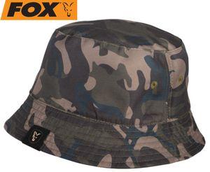 Fox Khaki/Camo reverse bucket hat - Hut für Karpfenangler