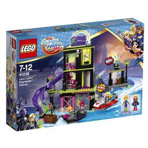 LEGO DC Super Hero Girls Die Kryptomite-Fabrik von Lena Luthor - 41238, Bausatz, Junge/Mädchen, 7 Jahr(e), 432 Stück(e)