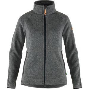 Fjällräven Övik Fleece Zip Sweater W Dark Grey L