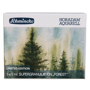 Schmincke Aquarellstifte »Horadam Aquarellfarbe - Wald (Forest) - 5 x 5ml Supergranulation 74 847 097«