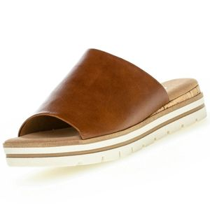 GABOR Comfort Damen Plateau-Pantolette Braun, Schuhgröße:EUR 38