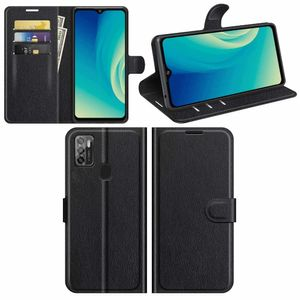 Für ZTE Blade A7s 2020 Handy Tasche Wallet Premium Schwarz Schutz Hülle Case Cover Etuis Neu Zubehör