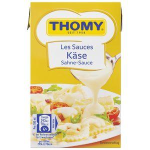 Thomy Les Sauces Käse Sahne Sauce cremig helle Käsesoße 250ml