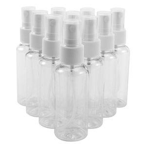 10 Stück ×50ml Leerflasche LiquidflaschenTransparente Leer Reise Beauty- Parfümzerstäuber Sprühflasche Flaschen