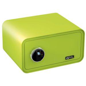 Olympia Go Safe 200 Tresor Design Safe, Fingerprint, Farbe: Apfelgrün