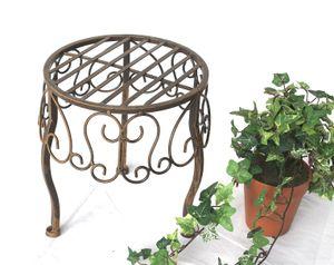 DanDiBo Blumenhocker 140129 S Blumenständer 25 cm Pflanzenständer Hocker Beistelltisch Tisch