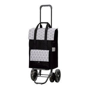 Andersen Shopper Quattro mit 4 Rädern und 50 Liter Tasche Vara weiß