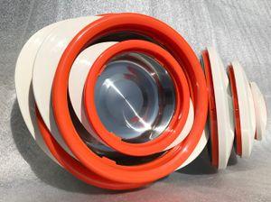3er Set Thermobehälter Thermoschüssel Thermoschüsseln Isolierschüssel Isolierbehälter Thermogeschirr Heiß & Kalt über 6 Stunden