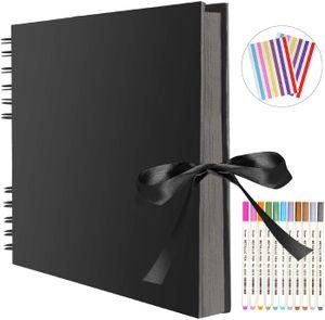 Fotoalbum, Fotoalbum zum Selbstgestalten, DIY Fotobuch 80 Seiten, Kann als Abschluss Geschenk, Geburtstagsgeschenk, Hochzeitstagsgeschenk, Valentinstagsgeschenk und mehr verwendet Werden