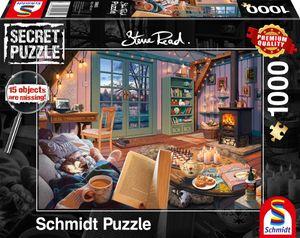 Schmidt Spiele 59655 Steve Read: Im Ferienhaus - Secret Puzzles