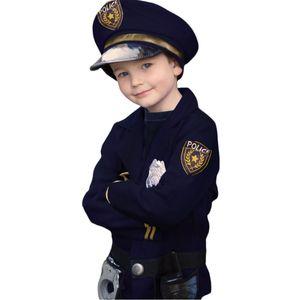 Polizei Kostüm für Kinder Polizist Sicher 6 Teile inkl. Zubehör