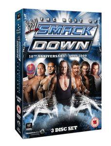 WWE Best Of Smackdown 10th Anniversary 1999-2009, DVD, Sport, 2D, 513 min, 3 Disks