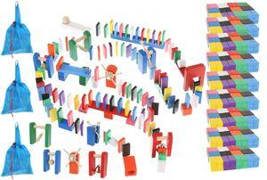 Dominosteine Domino Set Holz für Kinder Hindernisse 1080-tlg 9397