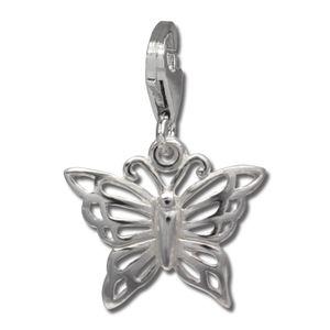 SilberDream Charm Armband Anhänger Schmetterling 925 Echt Silber FC731I