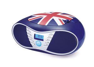 bigben Tragbares CD/Radio CD58 - Union Jack; AU347777
