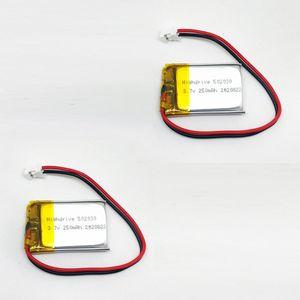 VinCorp 2X Lipo Akku 250mAh 1s 3,7V JST-PH Stecker Empfänger Sender Drohne RC Quadrocopter Uhr 502030 522030