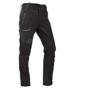 Maul - Seilschaft - Herren Softshell Tourenhose -  schwarz, Größen:XXL