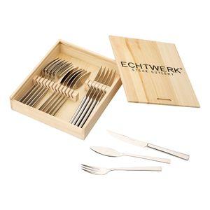 Echtwerk Steakbesteck Set 'SARRE' 18 tlg.