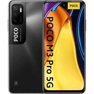 Xiaomi Poco M3 Pro 5G Handy - Smartphone 64GB, 4GB RAM, Dual SIM, Power Black