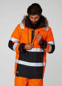Helly Hansen Jacke 71395 Alna Winter Parka 269 Orange/Ebony-M